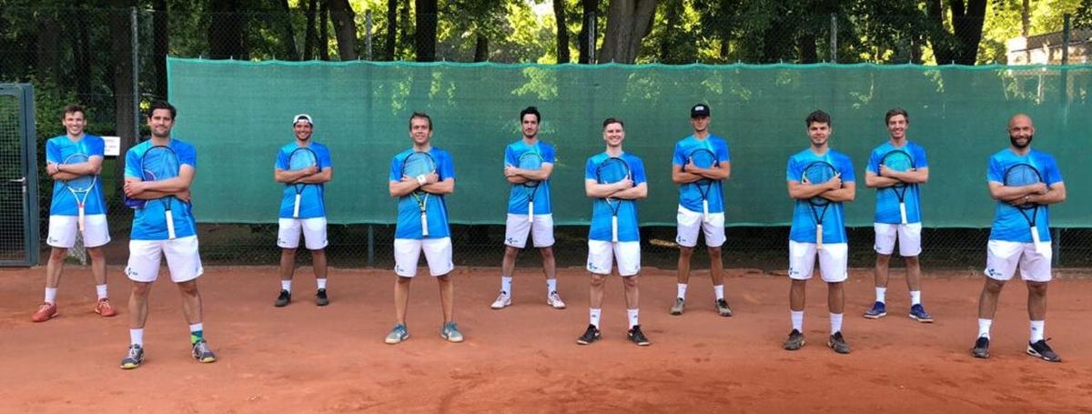 Tennisherren-1-Mannschaftsfoto